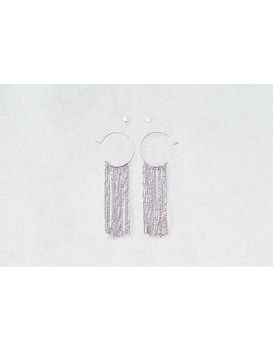 AEO Chain Hoops & Studs Earrings 2-Pack  -