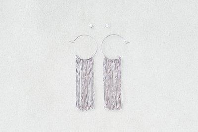 Chain Hoops & Studs Earrings 2-Pack