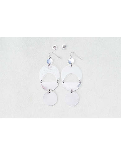 AEO Discs & Studs Earrings 2-Pack -