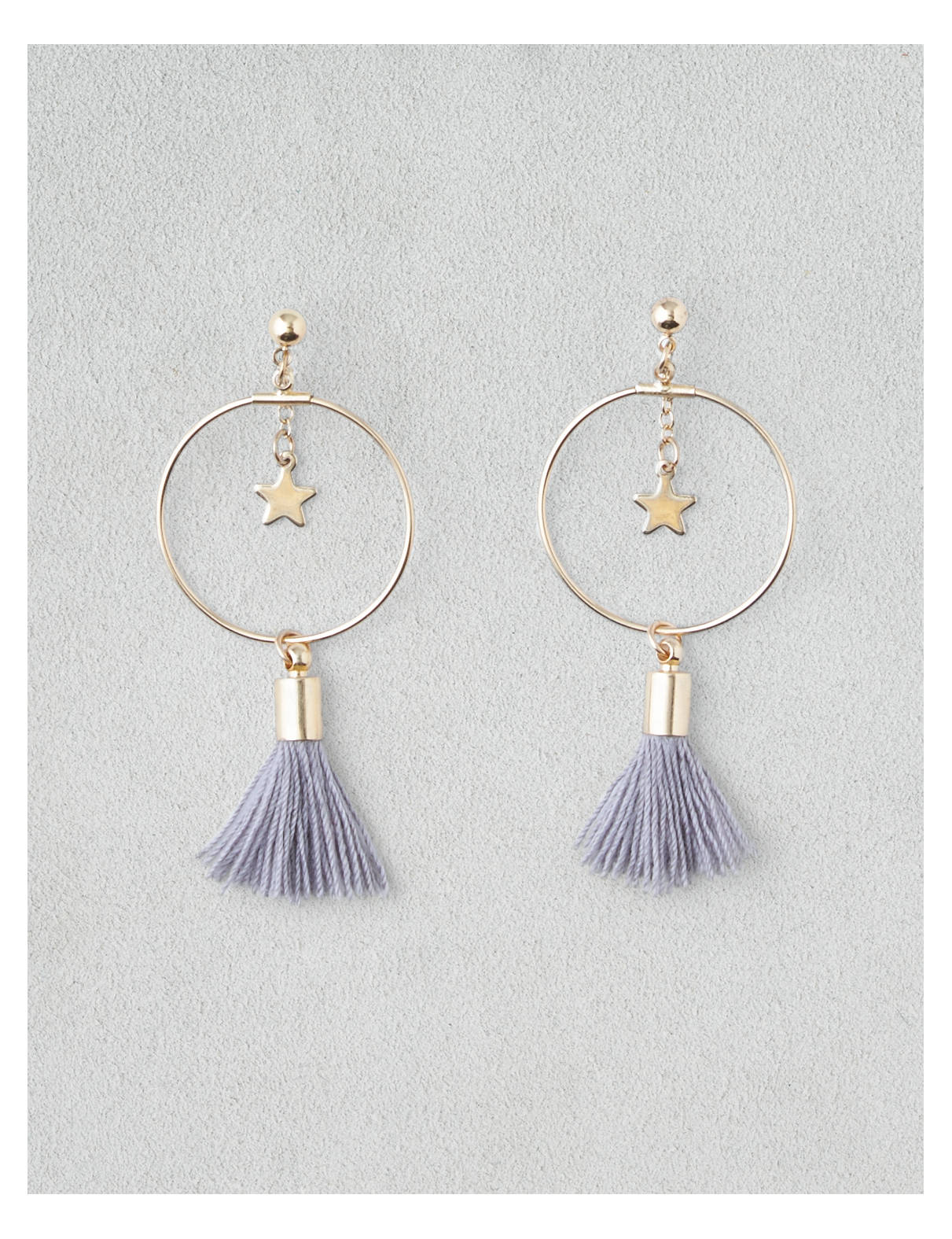 AEO Pom Circle Earrings