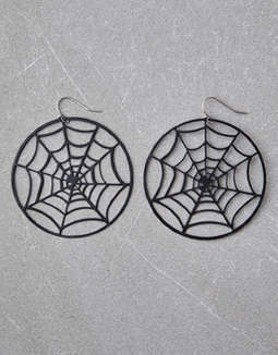 AEO Spider Web Earrings
