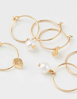 AE Mini Hoop Earring 3-Pack