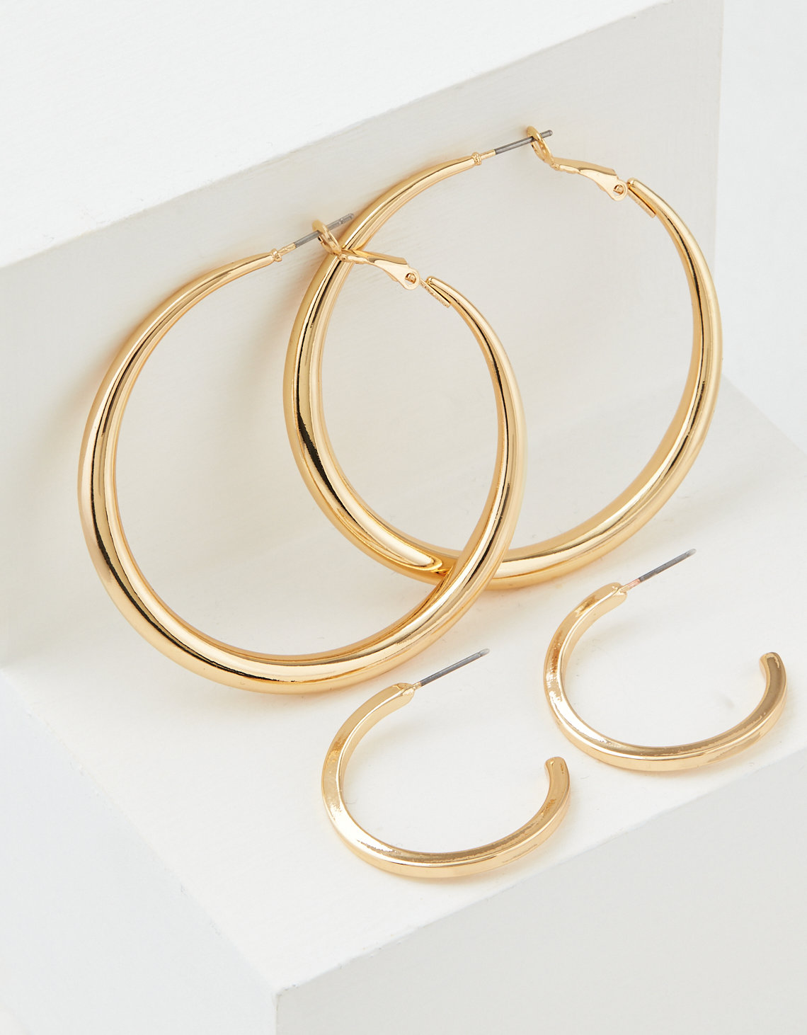 AEO Gold Hoop Earrings 2-Pack