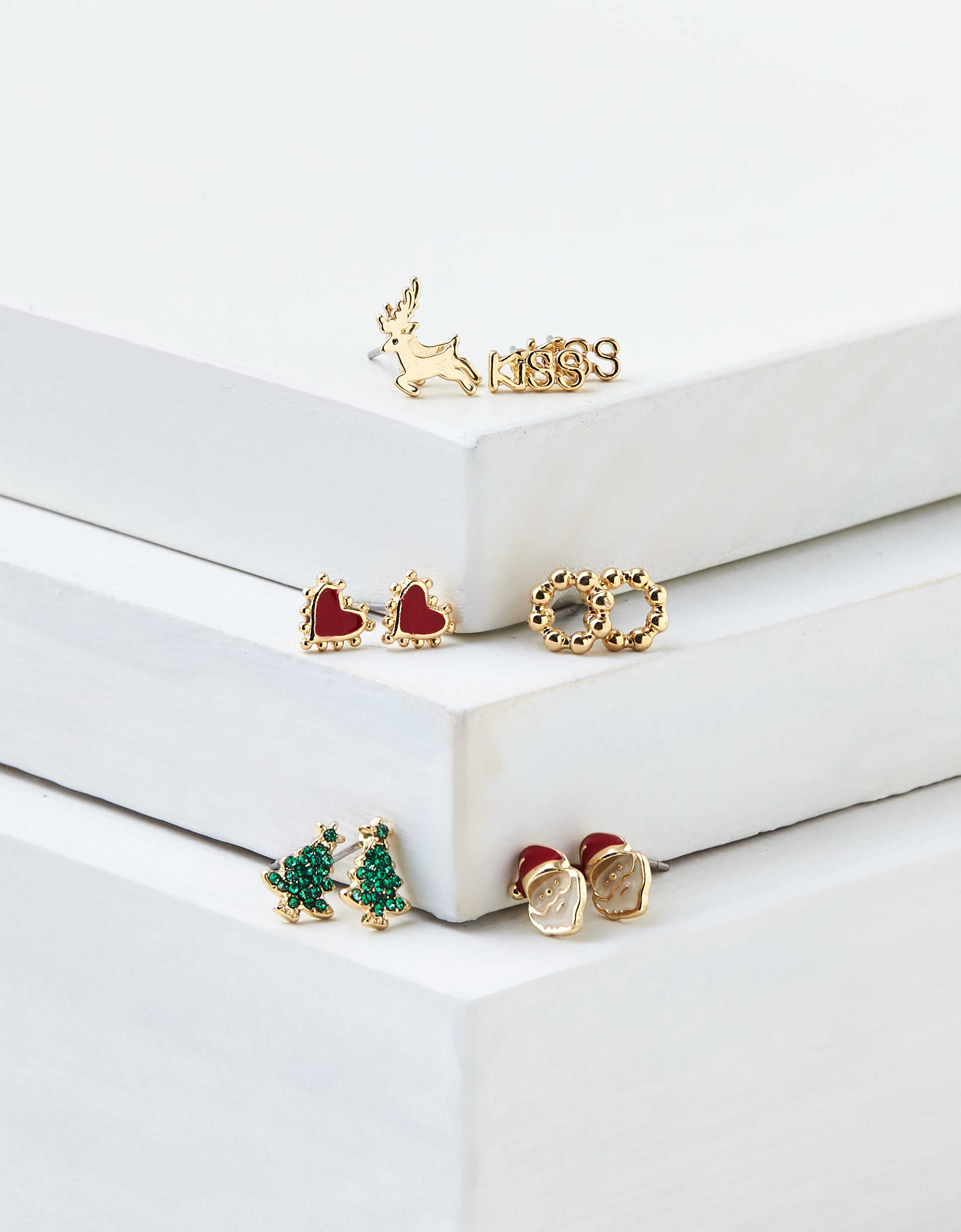 AEO Holiday Stud Earrings 6-Pack