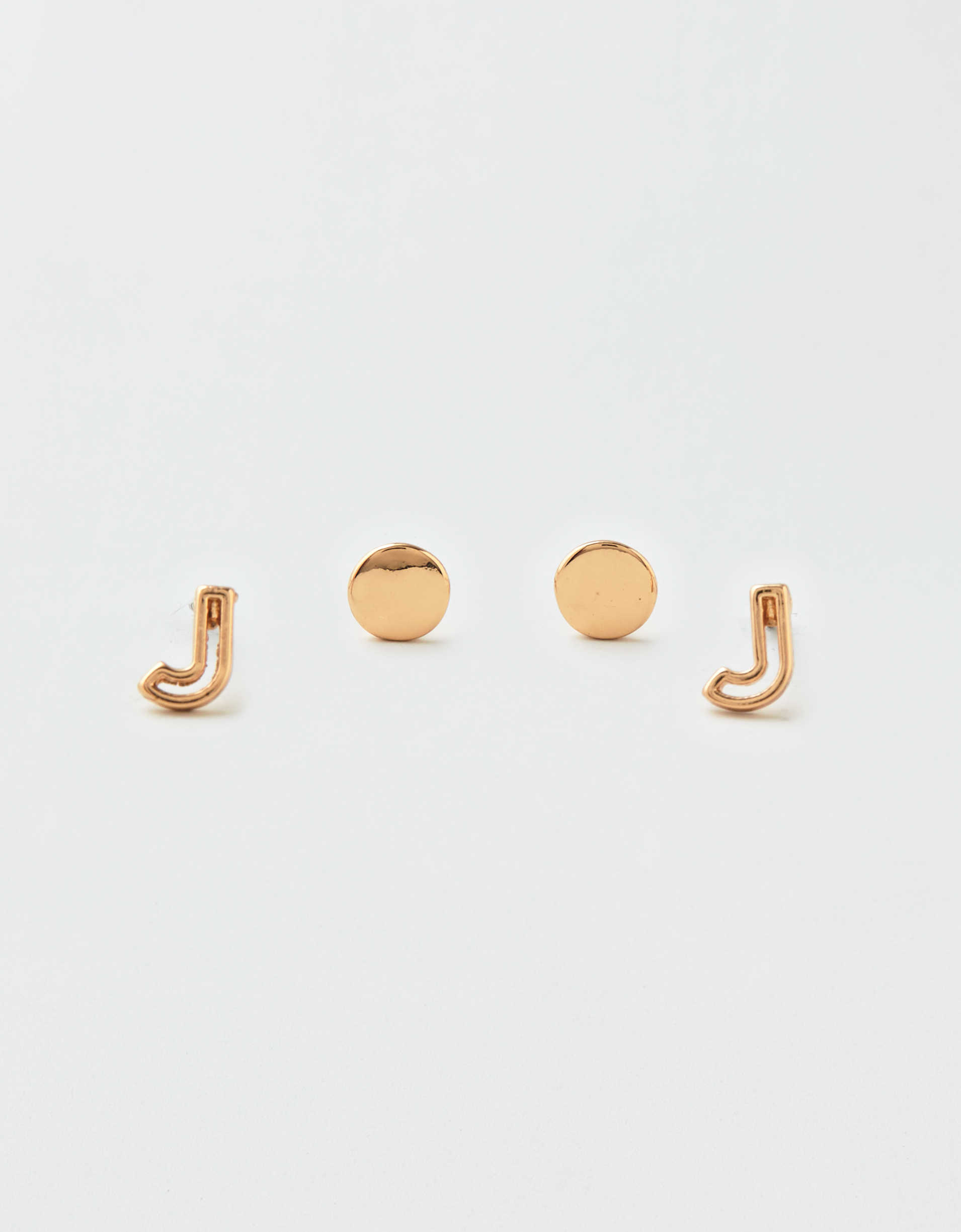 AEO J + Stud Earrings 2-Pack