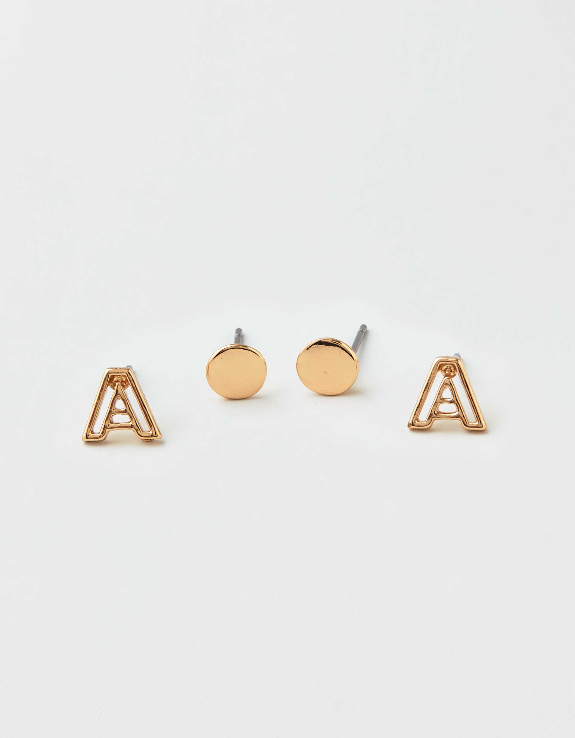 AEO A + Stud Earrings 2-Pack
