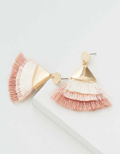 AEO Stacked Tassel Earring