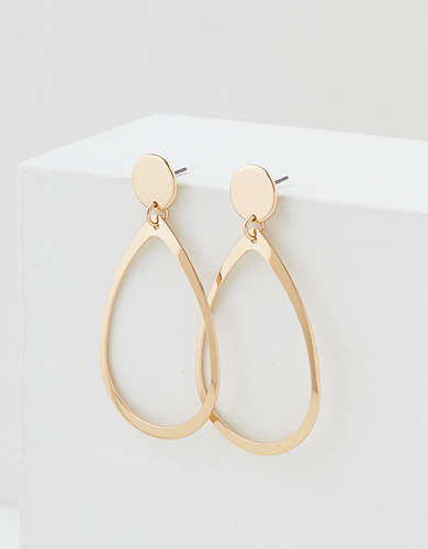 AEO Gold Teardrop Earring
