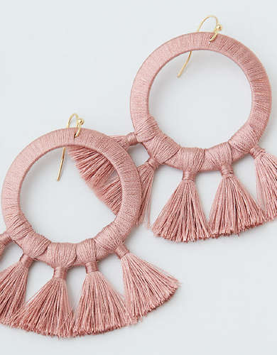 AEO Tassel Statement Earring