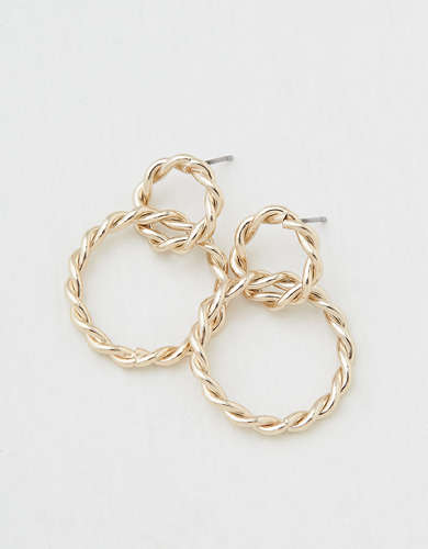 AEO Gold Link Earring
