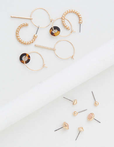 AEO Studs & Dangle Earrings 6-Pack