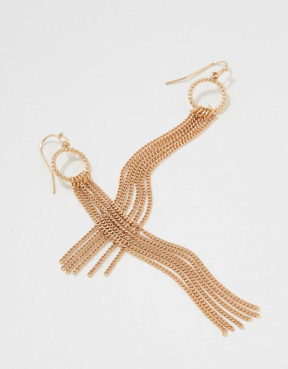AEO Gold Chain Earring