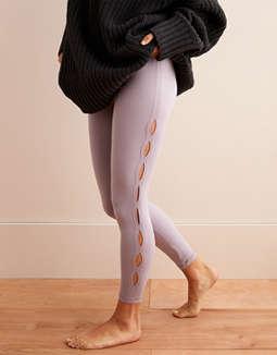 6c1a2e9a72b51 Shoptagr | Aerie Play High Waisted Keyhole 7/8 Legging by American ...