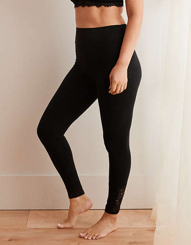 0d289a2c440f3 Polyester Spandex Yoga Leggings   American Eagle Outfitters