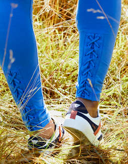 Aerie Chill Lace-Up Ankle Legging