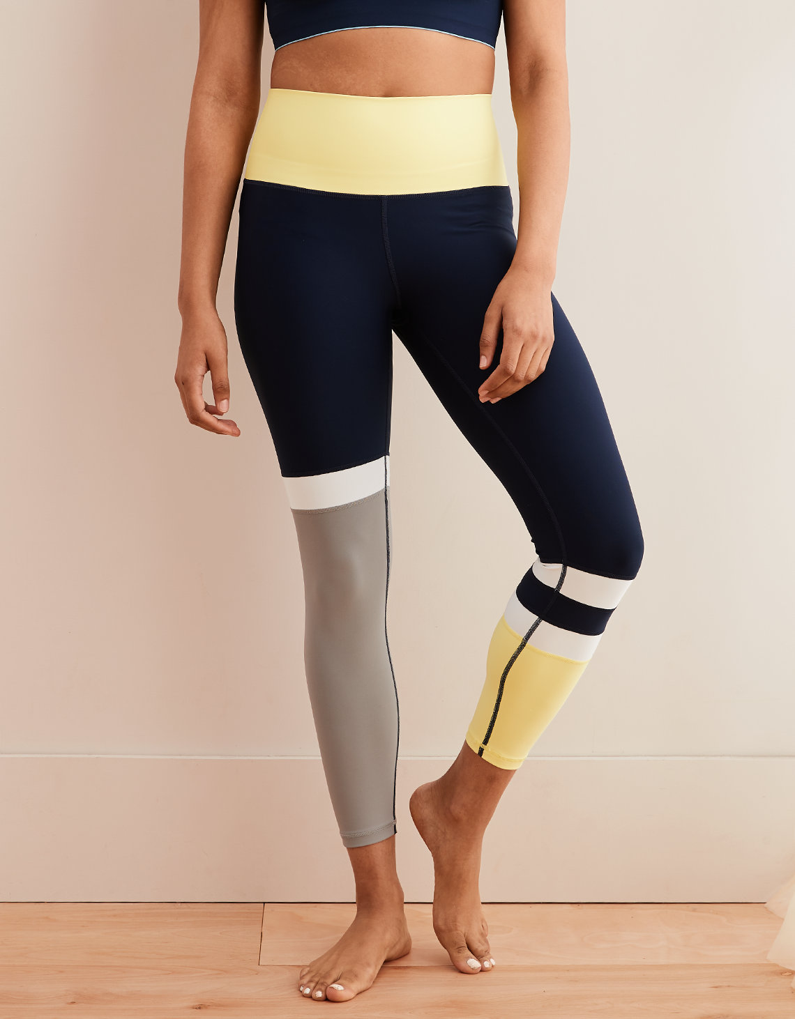 f9b54e5ea1ebe9 Aerie Move High Waisted Color Block 7 8 Legging. Placeholder image. Product  Image