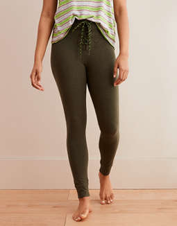 Aerie Chill High Waisted Drawcord Legging