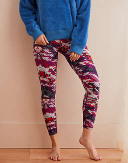 Aerie Move Printed 7/8 Legging