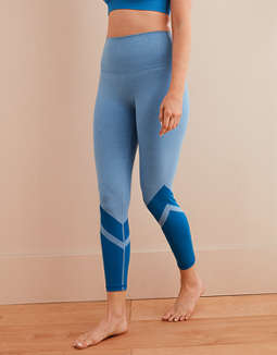 Aerie Move Color Block 7/8 Legging
