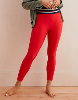 Aerie Move High Waisted Track 7/8 Legging
