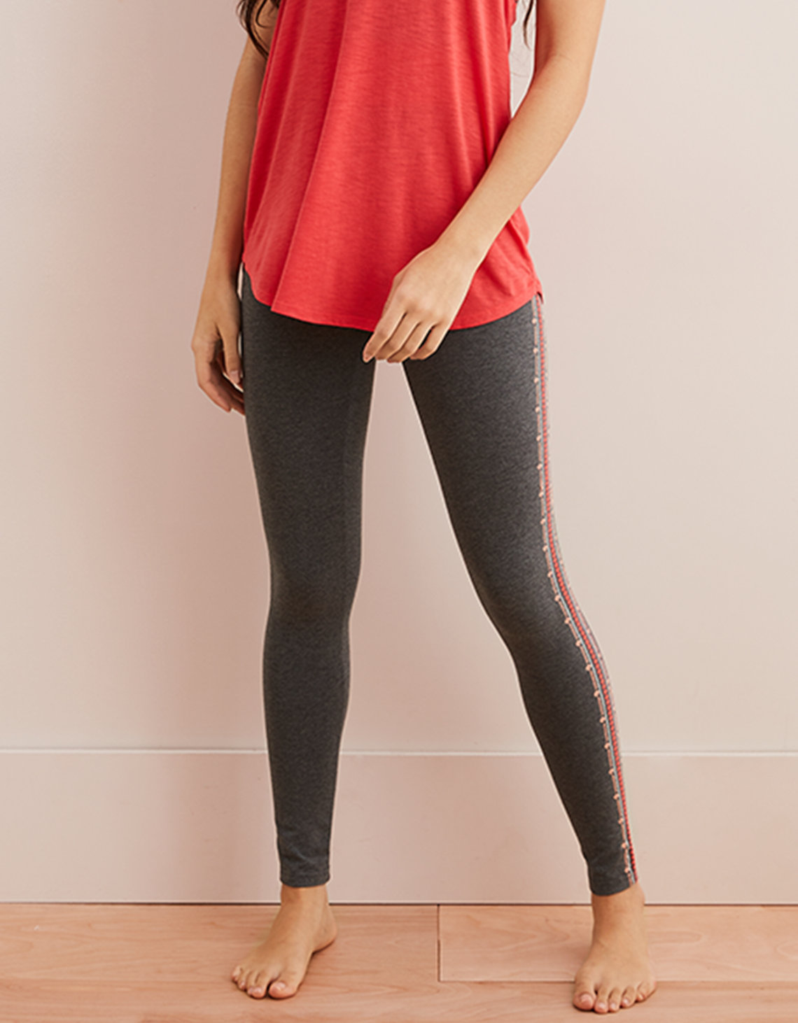 10985816d6390 Aerie Chill High Waisted Legging, Iron Heather | Aerie for American ...