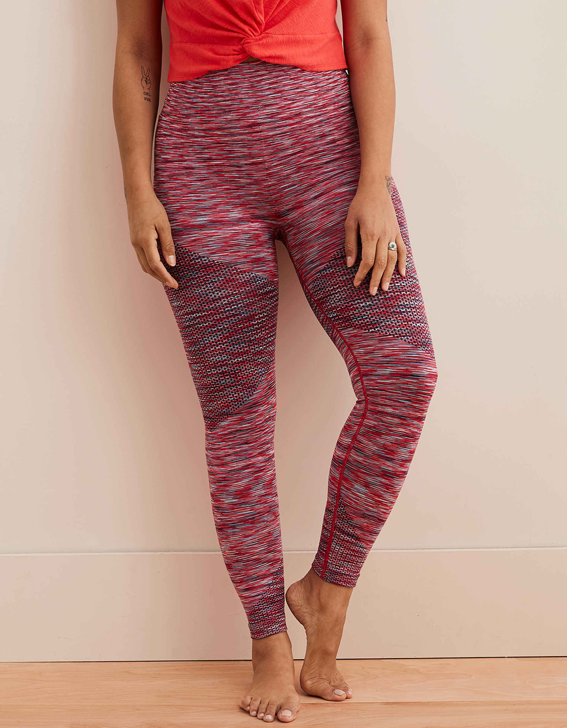 Aerie Move Seamless High Waisted 7/8 Legging