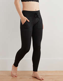 Aerie Play Printed Pocket & Cuff Legging
