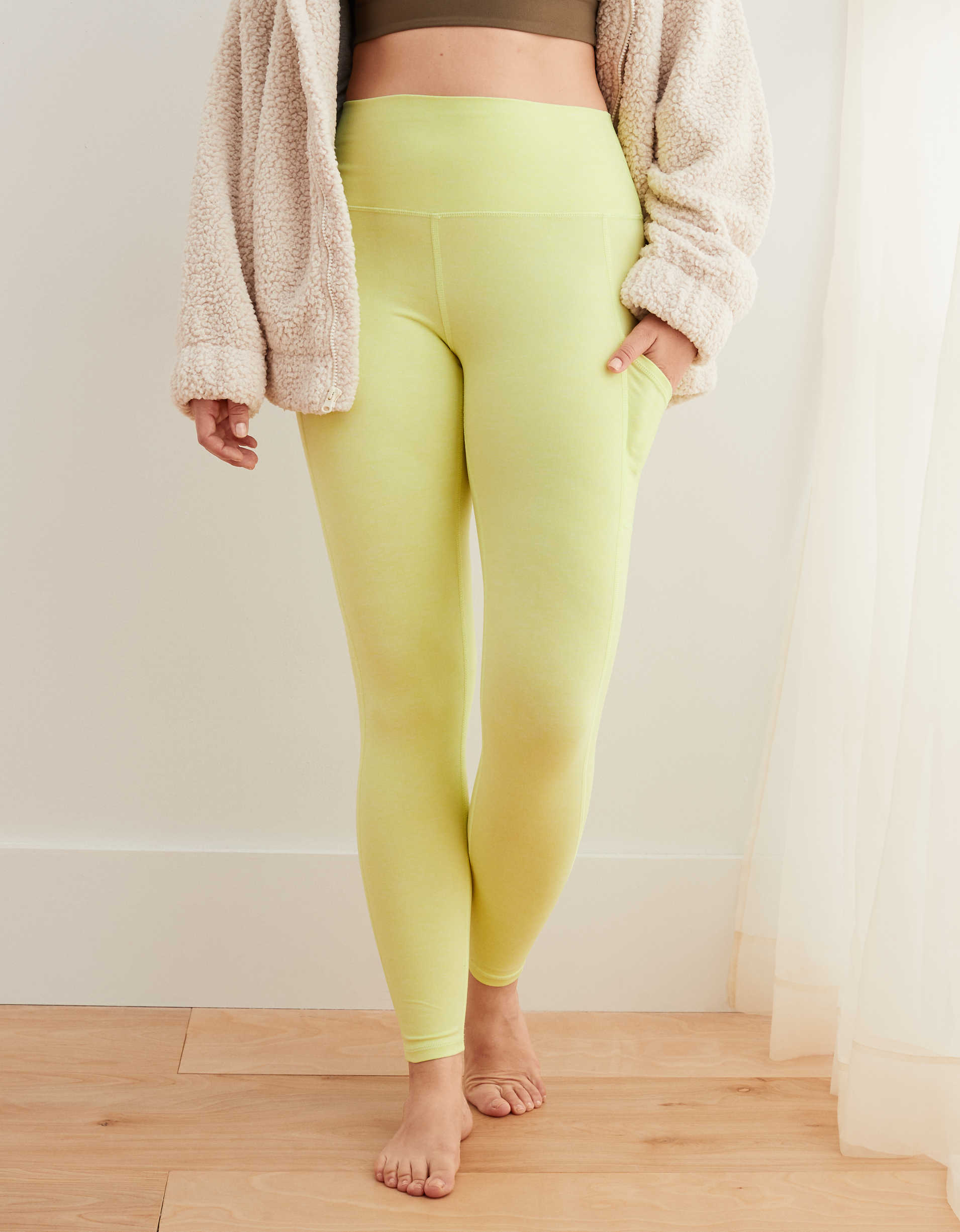 Aerie Play Pocket High Waisted Legging
