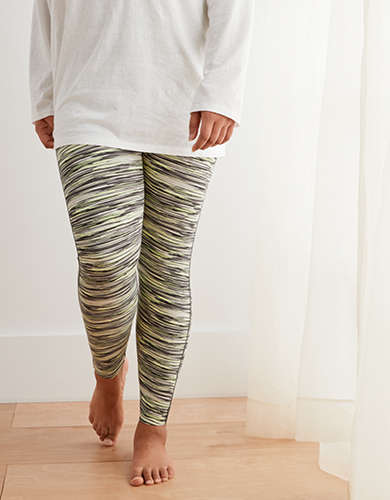 Aerie Move Printed High-Waisted Legging