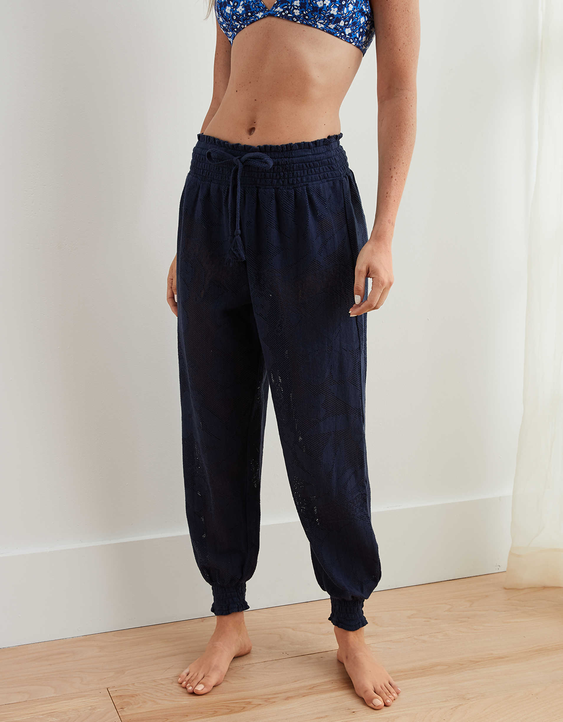Aerie Lace Beach Jogger