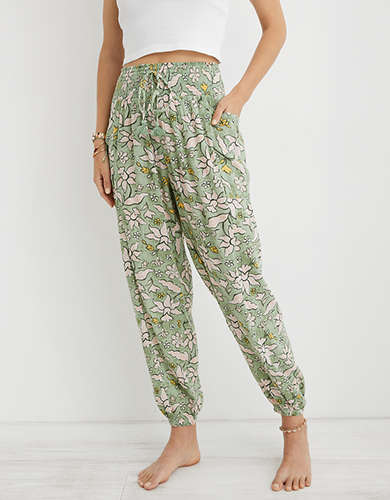 Aerie High Waisted Beach Pant