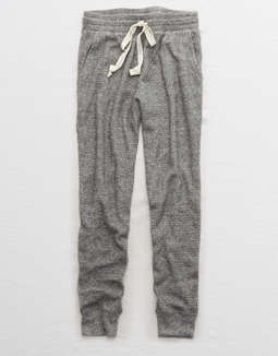 Aerie Waffle Tiger Jogger by American Eagle Outfitters