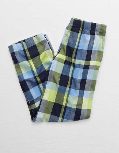 Aerie Flannel Oversized Pajama Pant