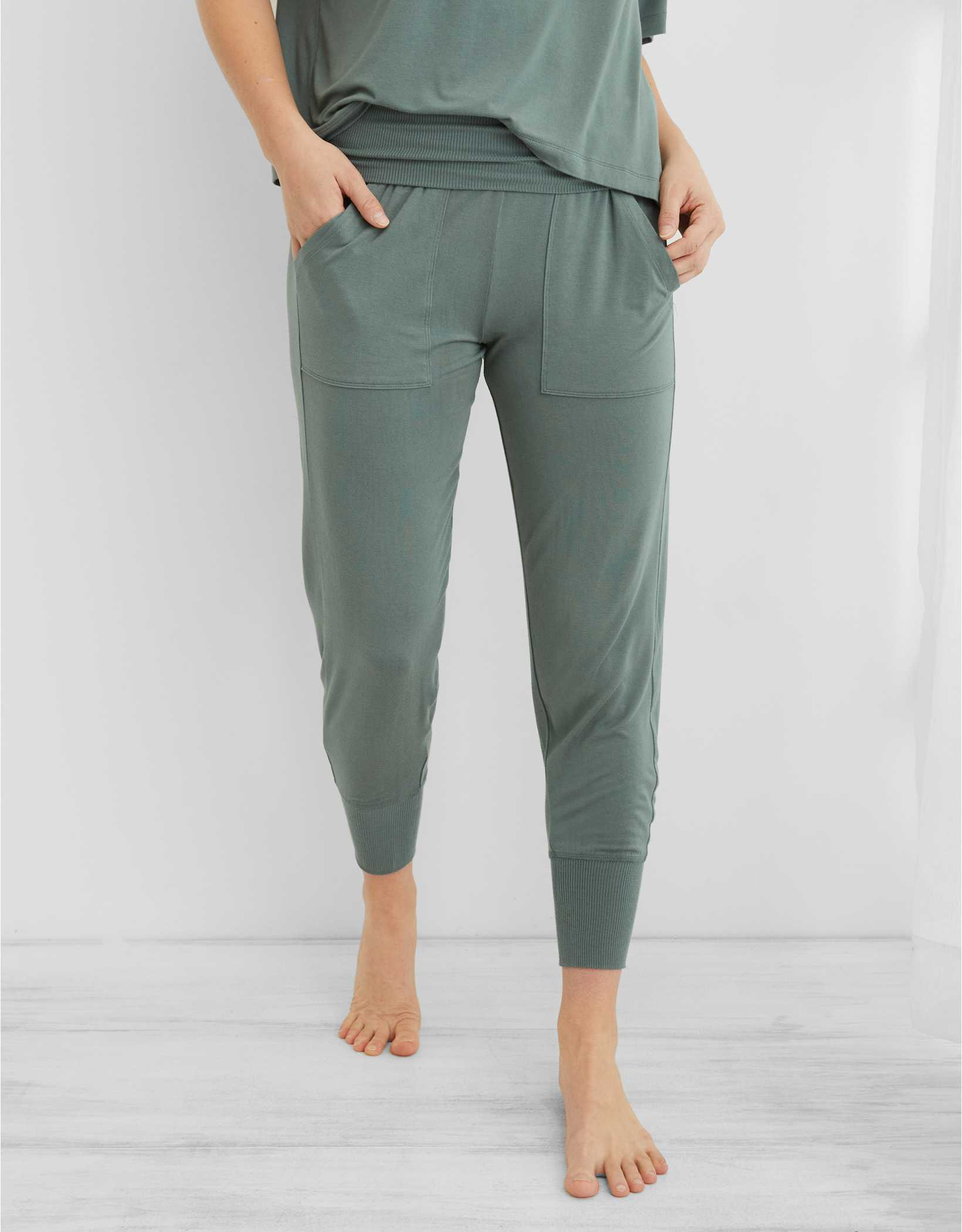 Aerie Real Soft® Foldover Jogger