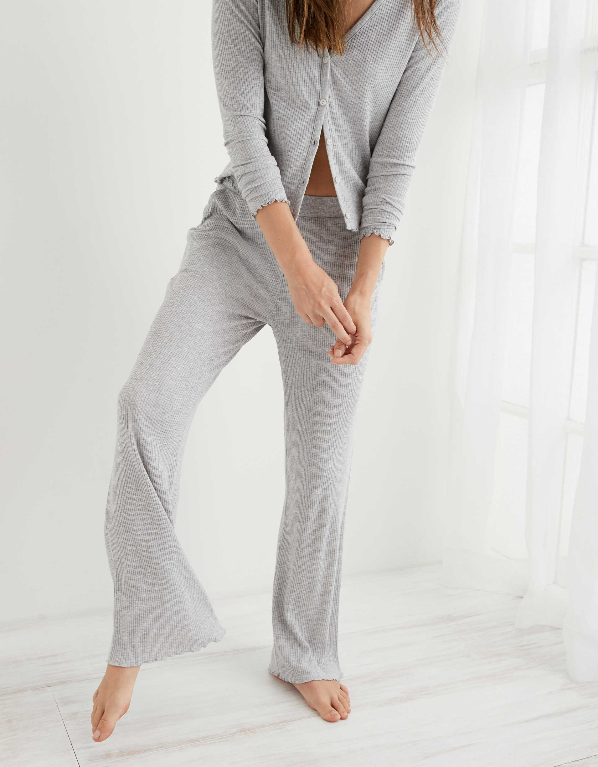 Aerie Real Soft® Ribbed Sleep Pant
