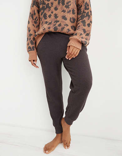 Aerie Waffle Jogger