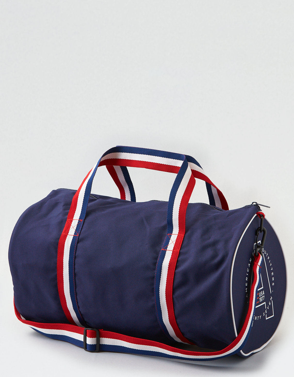 1d4a1253fac AEO Mini Duffle Bag, Navy   American Eagle Outfitters