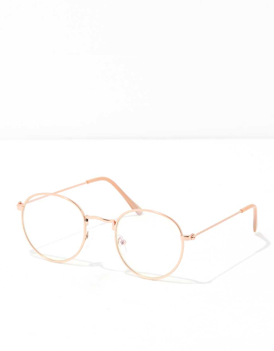 AEO Gold Wire Blue Light Glasses