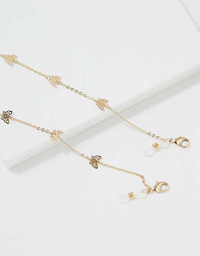 AEO Butterfly Glasses Chain
