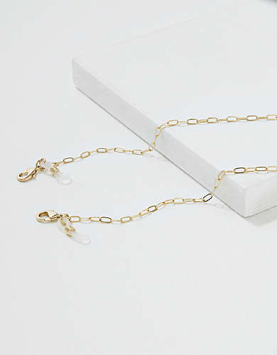 AEO Gold Glasses Chain