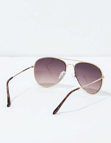 AEO Smoke Aviator Sunglasses
