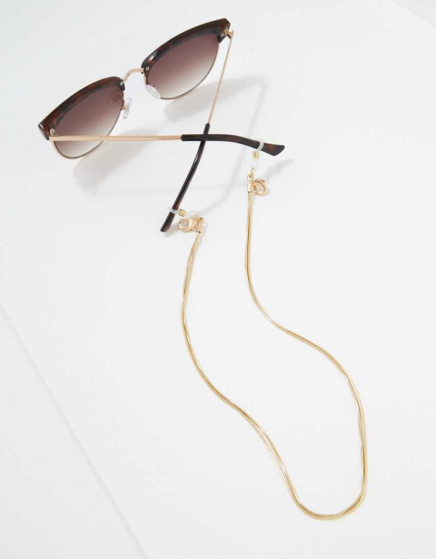 AEO Gold Snake Glasses Chain