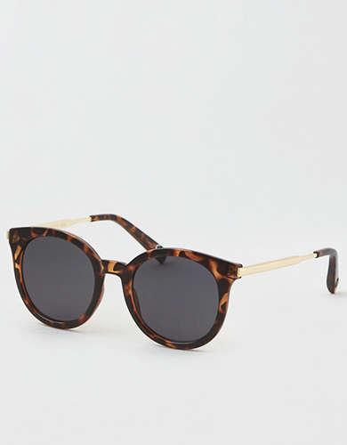 e65ac7637a AE Smoke Flat Lens Aviator Sunglasses