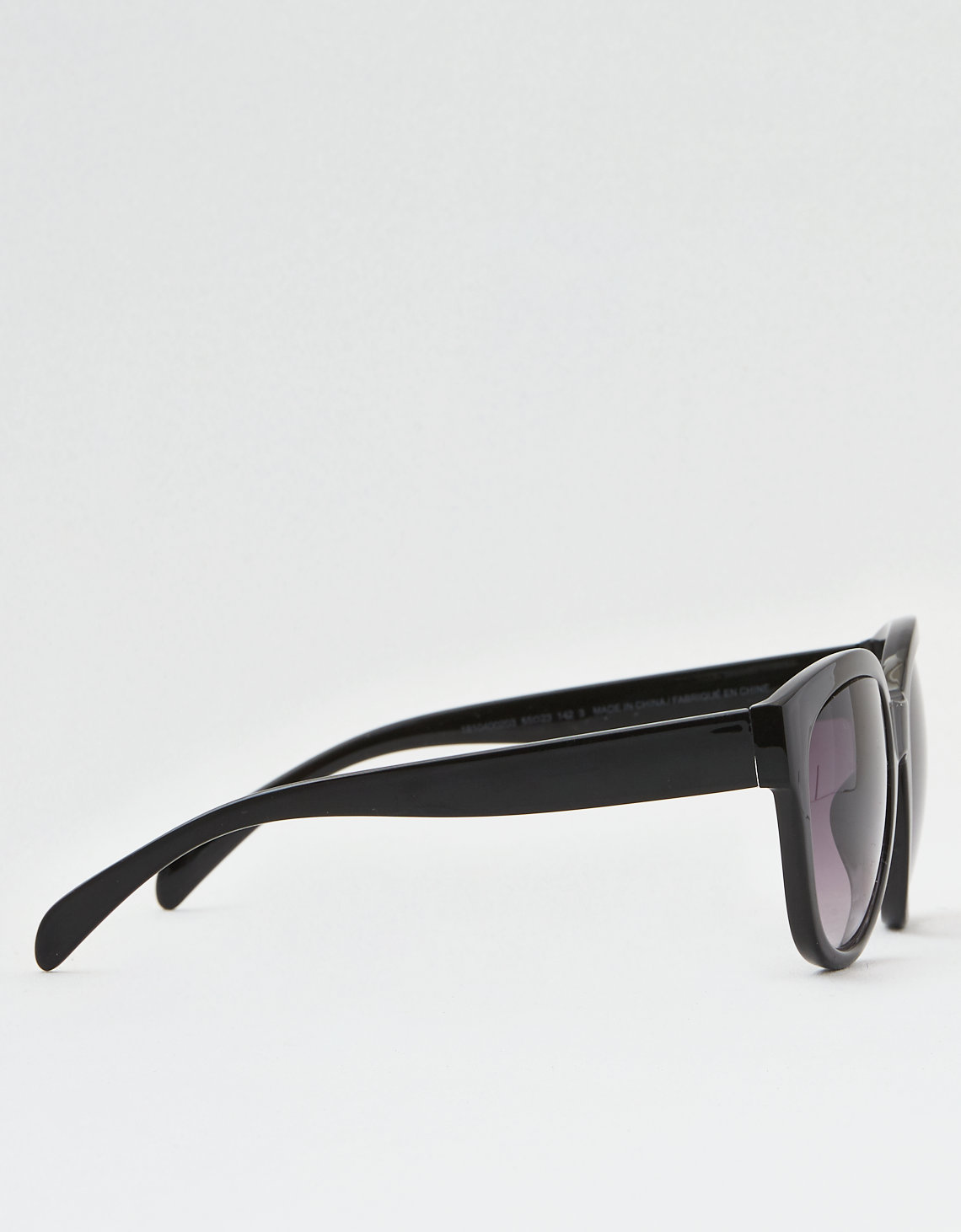 AE Black Oversized Square Sunglasses