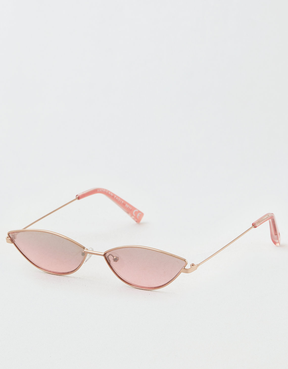 59c3f2c53d AE Rose Gold Metal Sunglasses. Placeholder image. Product Image