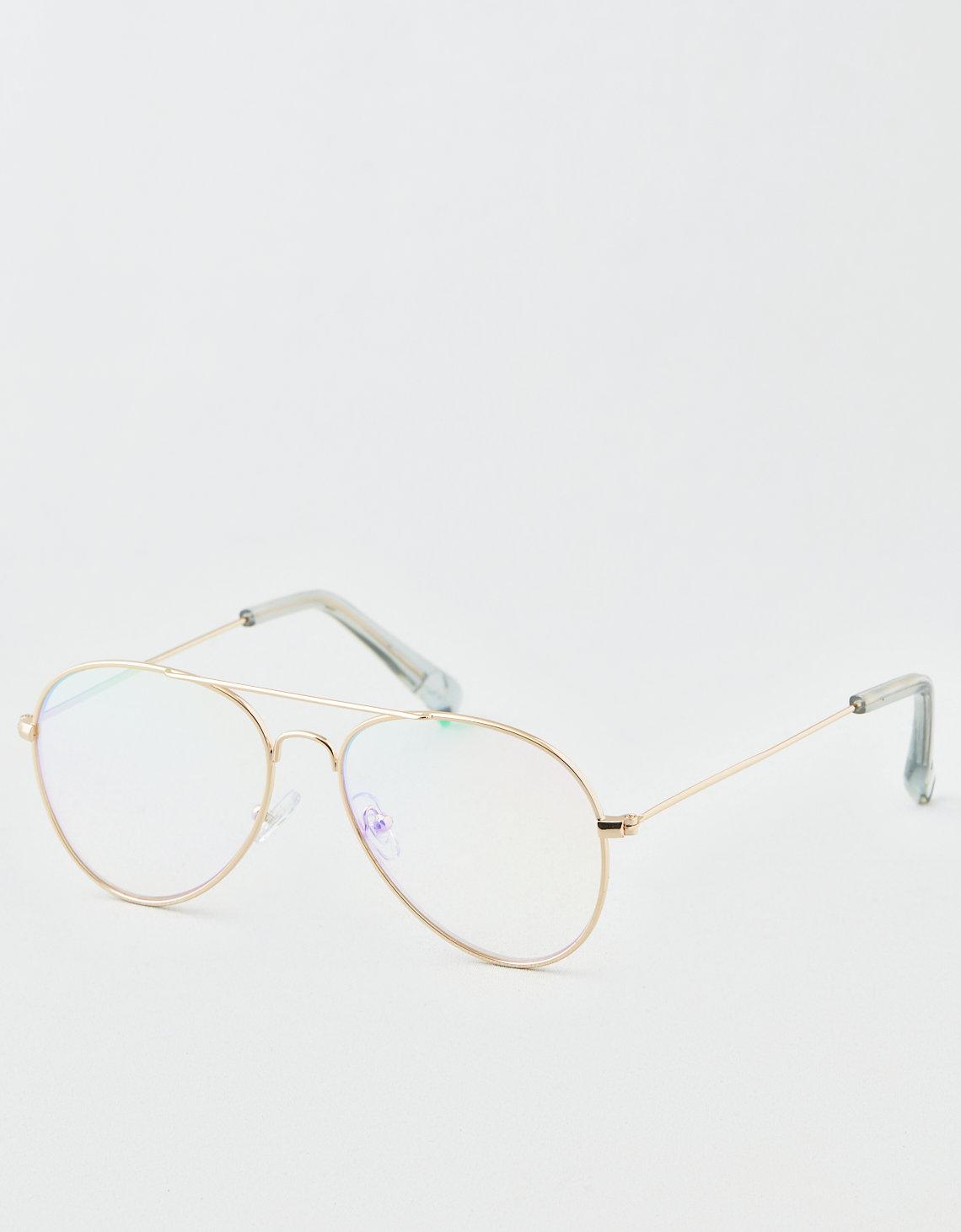 72319f3853 AE Transluscent Rainbow Aviator Sunglasses. Placeholder image. Product Image