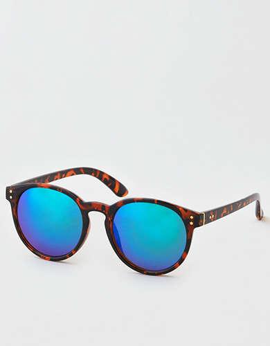 762abbdddc AE Rose Gold Flat Lens Aviator Sunglasses