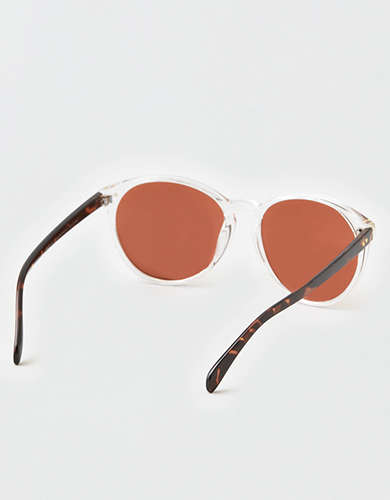 AEO Silver Flash Lens Sunglasses