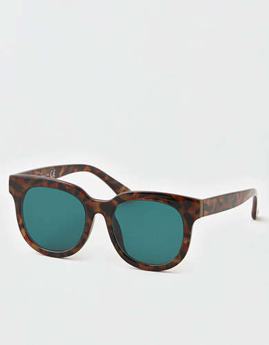 AEO Square Tortoise Sunglasses