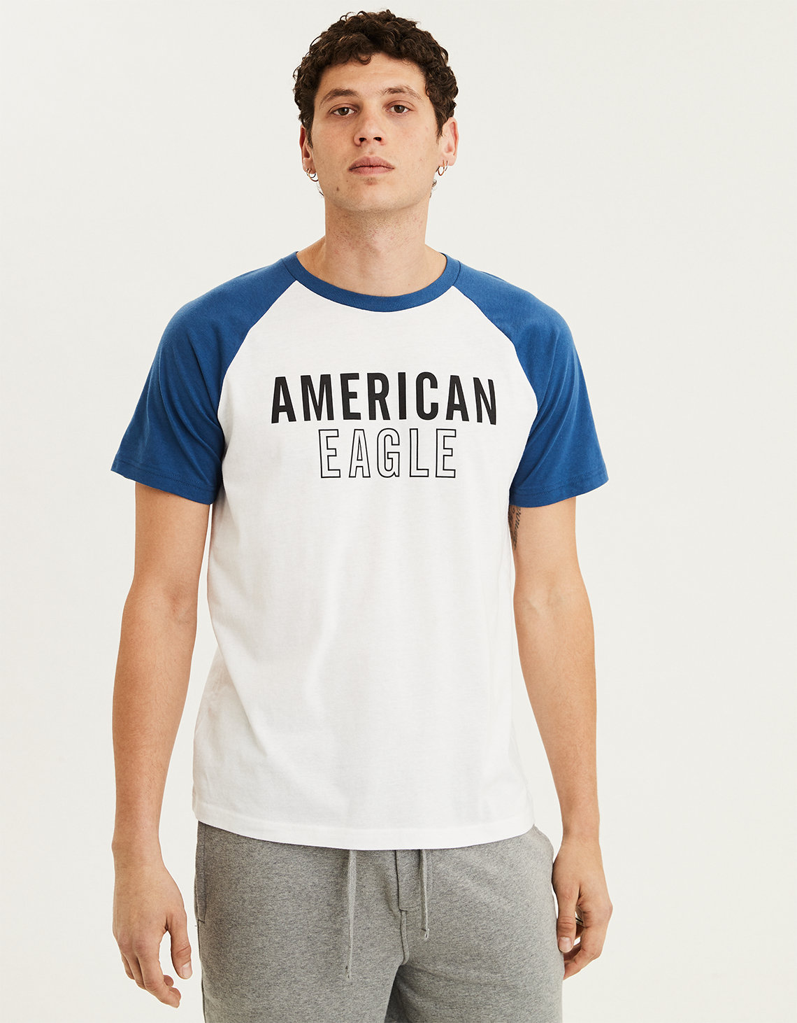e4f11e25ea AE Short Sleeve Graphic Tee, Bright White | American Eagle Outfitters